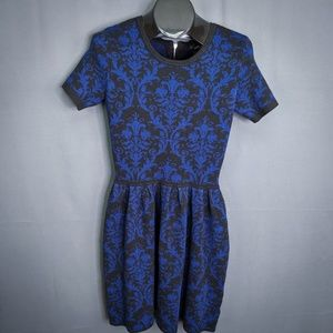 Romeo Juliet Couture Dress Size Medium Blue Womens
